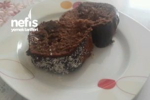 Damla Çikolatalı Çikolata Soslu Kek Tarifi