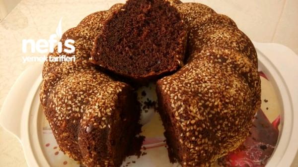 Susamlı Kremalı Kek ( Pamuk Gibi)