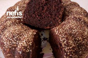Susamlı Kremalı Kek ( Pamuk Gibi) Tarifi