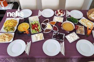 Hafta Sonu Kahvaltı Masası Tarifi