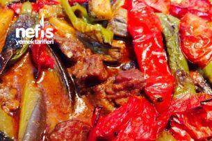 Fırında Etli Patlıcan ( Kebap Tadında) Tarifi