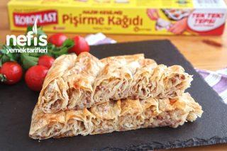 Hazır Yufkadan Kıymalı Patatesli Börek Tarifi