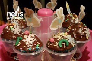 Çikolatalı Muffinler (Bayatlamayan Top Kek) Tarifi
