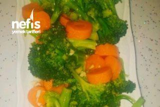 Sağlık Küpü Buharda Brokoli Salatam Tarifi