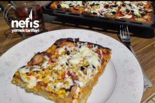 Tam Buğday Unundan Pizza Tarifi