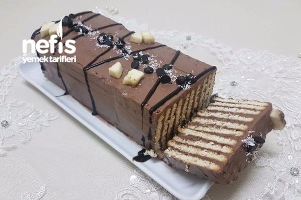 3 Malzemeli Baton Mozaik Pasta (Basit ve Lezzetli ) Tarifi