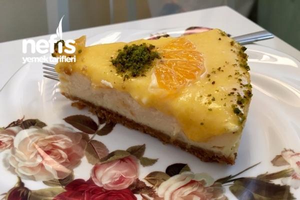 Mandalinalı Cheesecake (Çiz Kek) Tarifi