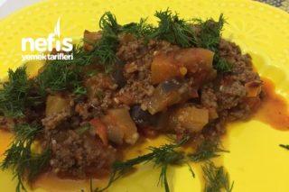 Patlıcan Yemeği (Kıymalı) Tarifi