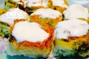 Sebzeli Mantı Böreği (Doyurucu Ve Sağlıklı) Tarifi