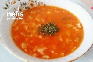 Besleyici Tarhanalı Şehriye Çorbası Tarifi