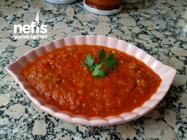 Kahvaltılık Sos (patlıcanlı Biberli)