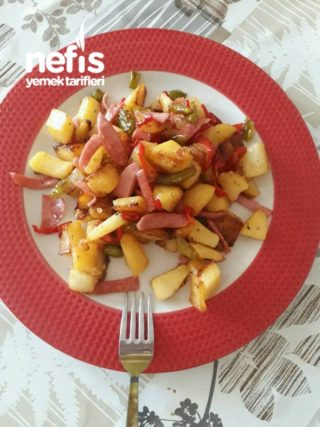 Kahvaltıya Renk Katacak Julyen Patates