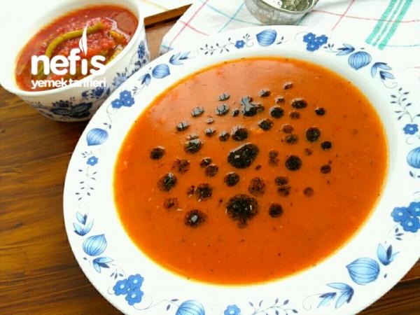Kızılcık Tarhana Çorbası