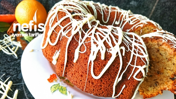 Havuçlu Portakallı Tarçınlı Sonbahar Keki