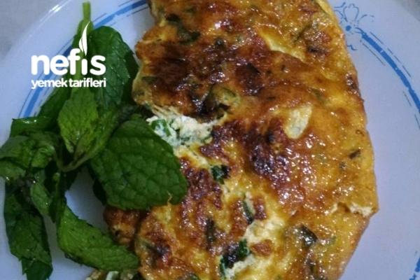 Omlet Bol Yeşillikli Tarifi