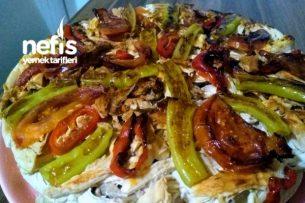 Pideli Tavuk Kebabı Tarifi