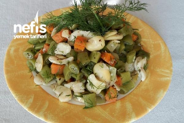 Kuru Baklalı Börülce Salatası Tarifi