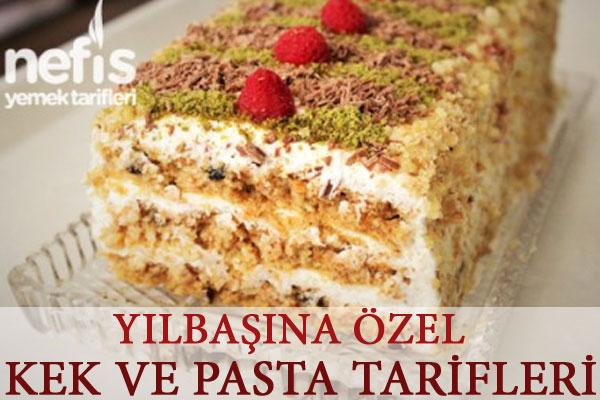 Yılbaşına Özel Kek ve Pasta Tarifleri Tarifi