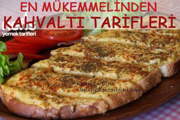 En beğenilen kahvaltı tarifleri Tarifi