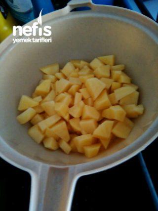 Fırında Misket Köfteli Patates