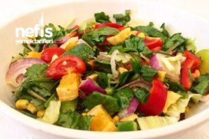 Köri Soslu Portakallı Salata Tarifi