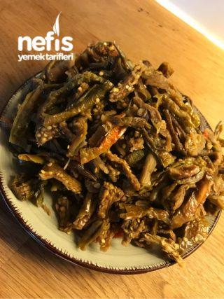 Kuru Biber,patlıcan,patates Kızartması ( Damak Tadınızda )