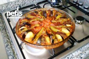Patlıcanlı Köfteli Dizme Tarifi