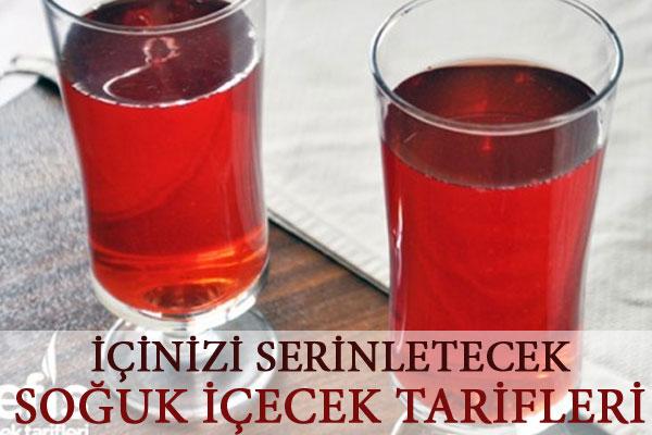 Serinletici 10 soğuk içecek Tarifi