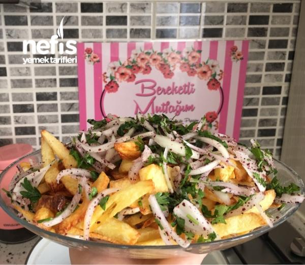 Soğanlı Patates Kızartması