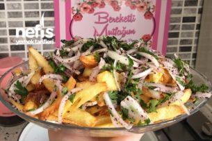 Soğanlı Patates Kızartması Tarifi