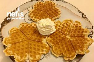 Waffle (2) Çocuklarınız Bayılacak Tarifi