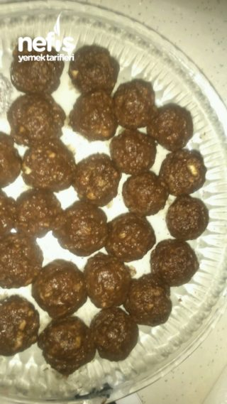 Çikolatalı Pudingli Toplar