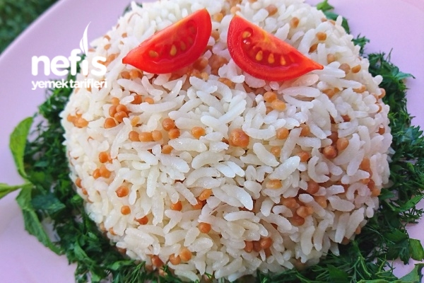 Kuskuslu Pirinç Pilavı (Tel Tel Nefis) Tarifi