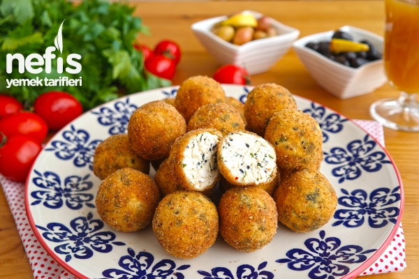Kahvaltılık Peynir Topları Tarifi