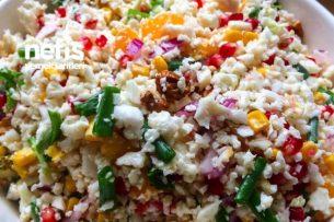 Narlı Karnabahar Salatası Tarifi