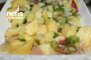 Patates Salatası Basit Tarifi