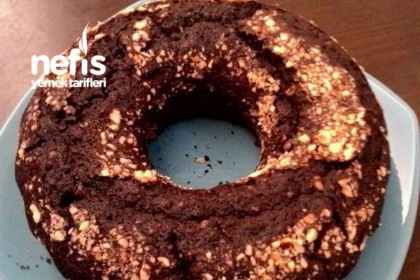 Çaylı Çikolatalı Fındıklı Kek (Pamuk Gibi) Tarifi