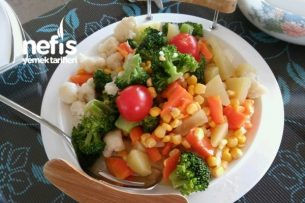 Sebze Salatası (Diyet Salata) Tarifi