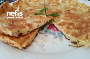 Kahvaltılık Kırpık Tava Böreği (3 Malzemeli) Tarifi