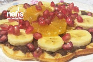 Tarçın Aromalı Waffle Tarifi