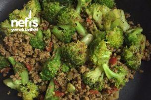 Kıymalı Brokoli Tarifi
