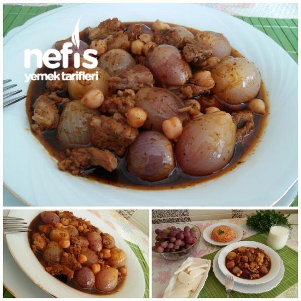 Nefis Nohutlu Soğan Yahnisi (Gaziantep Mutfağı)