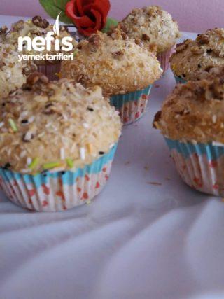 Zeytinyağlı Muffin Kek
