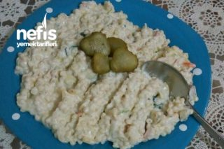 Kabaklı Patatesli Ve Havuçlu Kuskus Salatası Tarifi