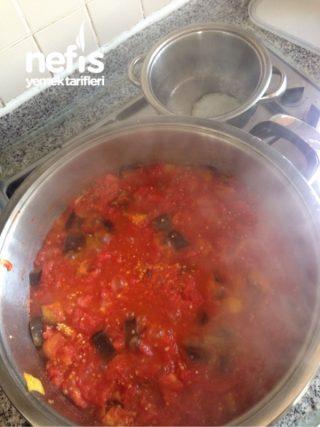 konservede patlıcan  yemeği (pratik)