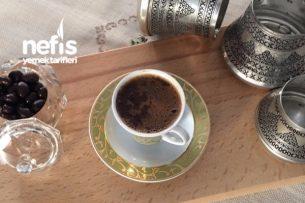 Bakır Cezvede Nutellalı Türk Kahvesi Tarifi