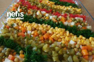 Etimek Salatası (Gökkuşağı Salatası) Tarifi