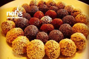 Kakao Trufles (Raw Vegan) Tarifi