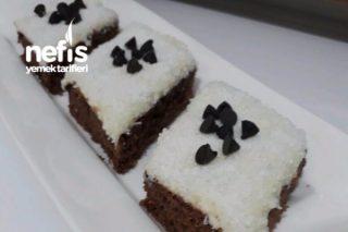 Beyaz Çikolata Soslu Islak Kek Tarifi