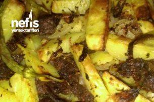 Fırında Etli Patates (Nefis) Tarifi